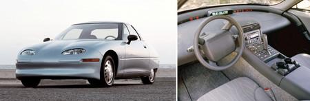 Evolución diseño coches GM EV-1