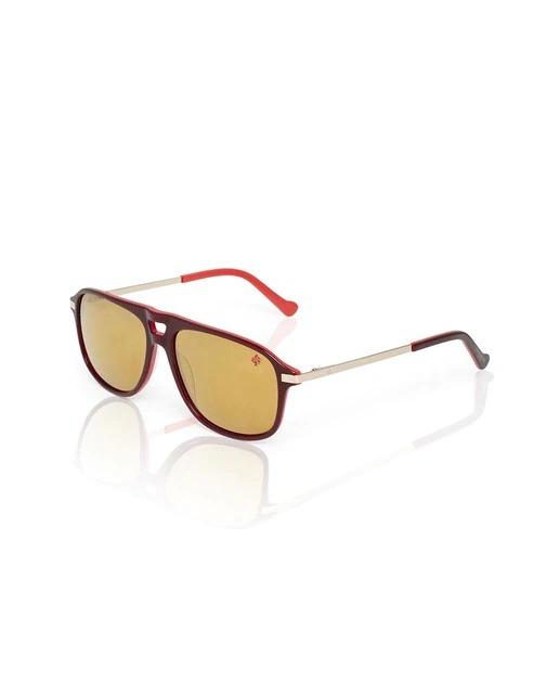 Gafas de sol Unisex Alejandro Sanz Music Designer saddle en rojo