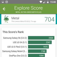 Foto 5 de 8 de la galería moto-e3-benchmarks en Xataka Android