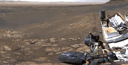 Curiosity comparte un épico panorama interactivo compuesto por más de 1.000 imágenes para explorar la superficie de Marte