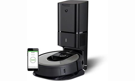 El completo Roomba i7+ de iRobot también está rebajado hoy. Puede ser nuestro por 799 euros con 100 de descuento