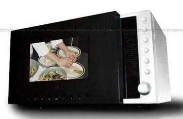 Microondas con televisión y DVD