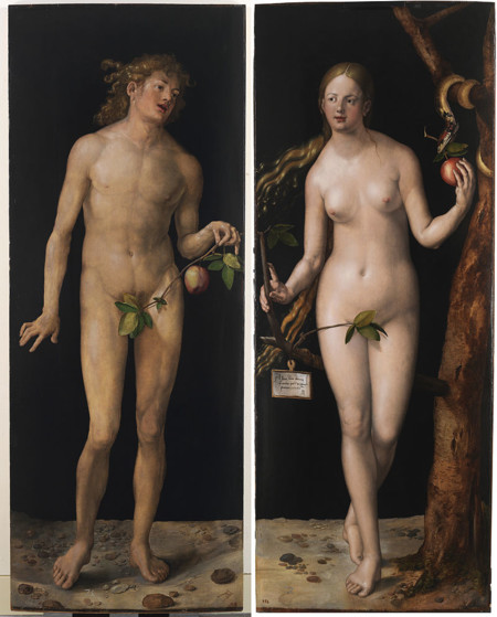 Albrecht Durer Adam And Eve Prado 2