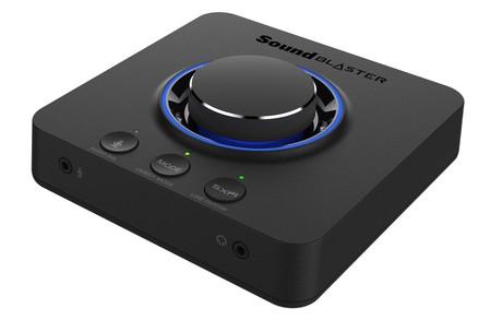 Creative trae a España su nueva tarjeta de sonido externa para gaming, la Sound Blaster X3