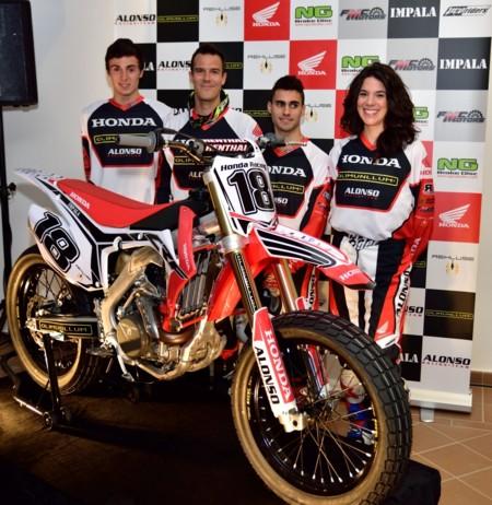 Honda Alonso Racing Team 01