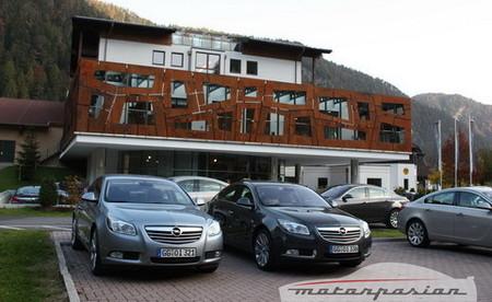 Opel Insignia, prueba por las carreteras de Austria (II)