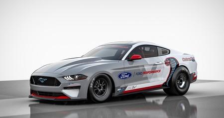 El Ford Mustang Cobra Jet se convierte en un monstruo eléctrico de 1,400 hp