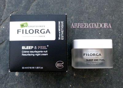 Filorga Sleep & Peel, la Crema de noche Reparadora de Superficie, ideal pieles apagadas y con manchas