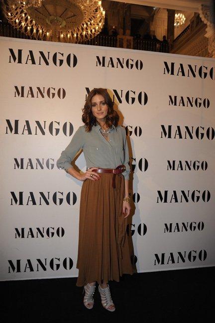 Olivia Palermo en el desfile de Mango Resort 2011
