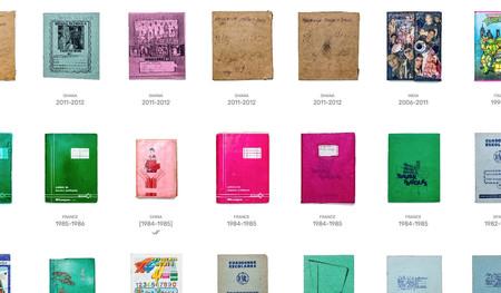 Esta web recopila libretas escolares de todo el mundo y de diferentes épocas: un viaje visual y emocionante