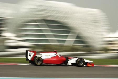 Michael Herck, el más rápido en el penúltimo día de pruebas de la pretemporada de la GP2 Asia Series