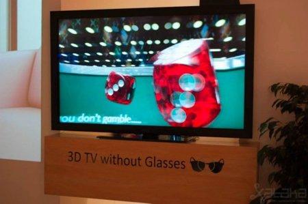 Los televisores 3D sin gafas se dejan ver en IFA 2010