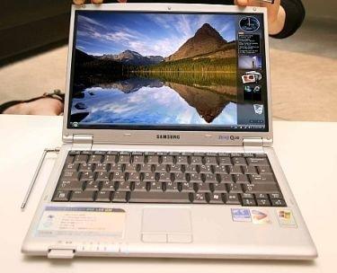 Samsung presenta su primer portátil con discos NAND