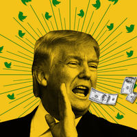 Dona dinero a una buena causa cada vez que Donald Trump publique un tweet