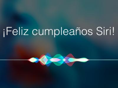 ¡Feliz cumpleaños Siri! El asistente virtual de Apple que nació hace cinco años