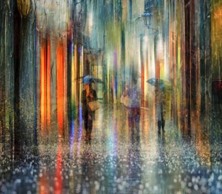 Fotografiar durante la lluvia hace que las imágenes parezcan increíbles pinturas al óleo
