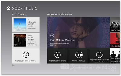 Análisis: Xbox Music
