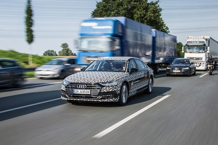 Audi A8 2018 Ai Traffic Jam Assist 1