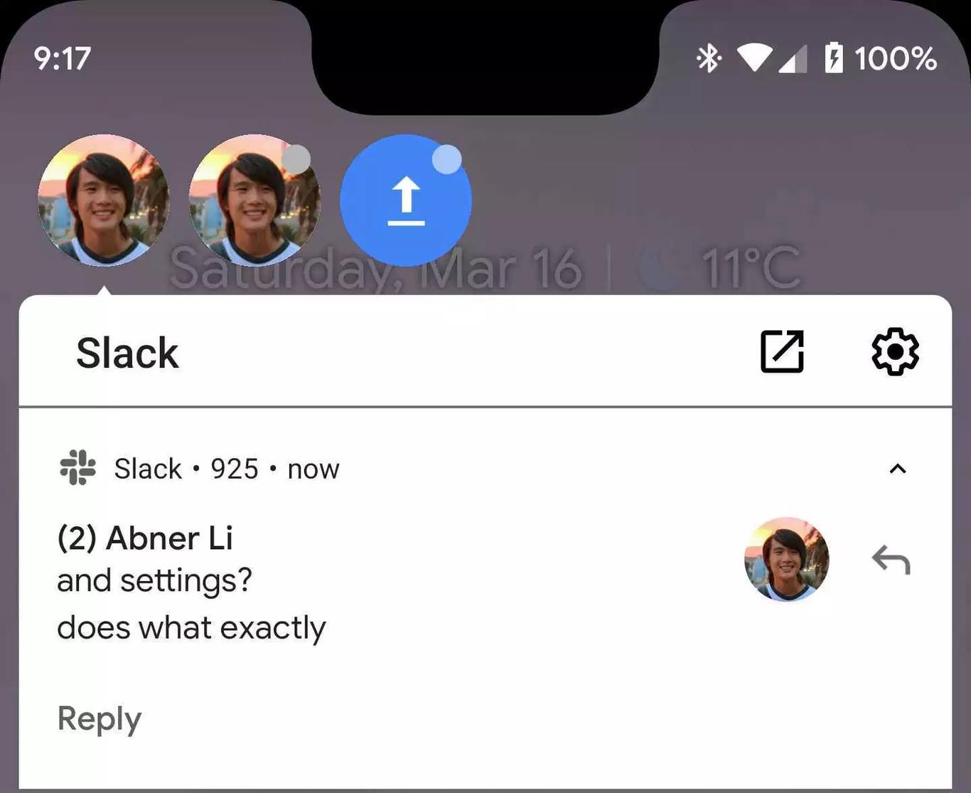 9cb160db24a6 Android Q  así son y así se activan sus nuevas burbujas de chat