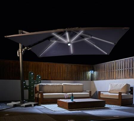 Parasoles para la terraza