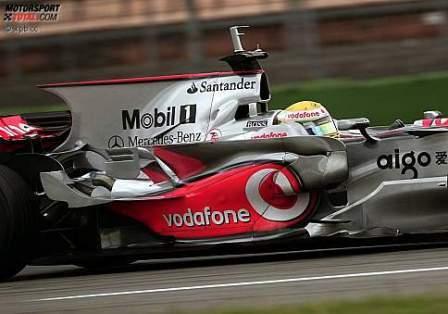 McLaren descarta usar la aleta de tiburón