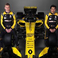 Renault quiere el campeonato de F1 2018, y aquí está el coche con el que pretende conseguirlo