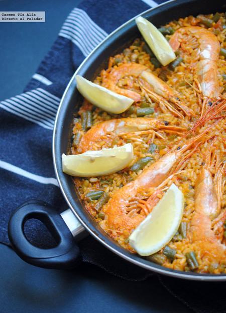 Arroz con langostinos: receta tradicional para una comida en familia