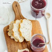 Mermelada casera de uva. Receta fácil