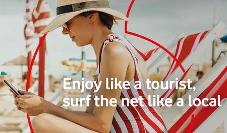 Vodafone lanza Traveller, una nueva tarifa de prepago para turistas con 25 GB de datos por 20 euros
