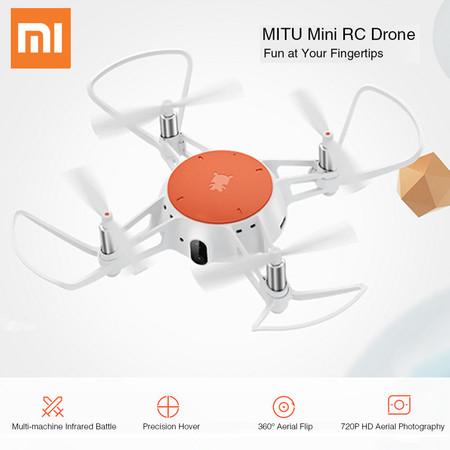 Xiaomi MiTu RC Drone, con cámara y conectividad WiFi, por sólo 50,71 euros utilizando este cupón