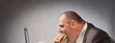 Cuantas más horas trabajas, más engordas