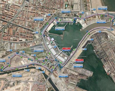 El Gran Premio de Europa también contará con dos zona para el DRS