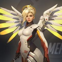 Así fueron los primeros conceptos de lo que acabaría siendo Mercy, la healer más famosa de Overwatch