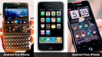 Resumiendo la guerra de patentes de Apple y su competencia de forma ilustrada