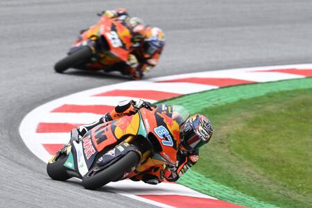 Remy Gardner arrasa en el Red Bull Ring y Raúl Fernández se queda cuarto en el día de su ascenso a MotoGP