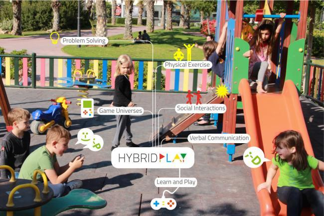 Hybrid Play, los columpios de toda la vida se convierten en mandos para videojuegos