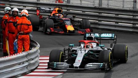 Hamilton Monaco F1 2019