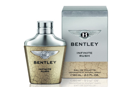 Bentley lanza su nueva fragancia Infinite Rush