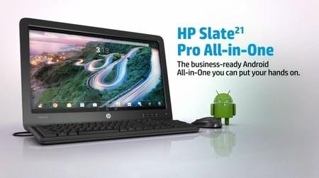 HP anuncia Slate21 Pro, su primer AiO con Android para empresas