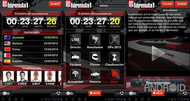 Auto Bild Formula 1 Live 2012
