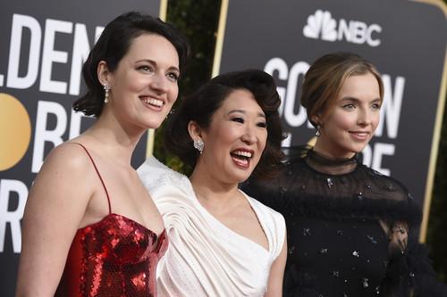 Sandra Oh, Jodie Comer y Phoebe Waller-Bridge, las primeras en llegar a los Globos de Oro 2019