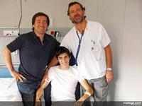 Axel Pons recibirá mañana el alta médica