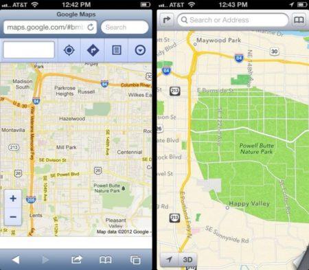 La aplicación de Google Maps para iOS no saldrá 'pronto'