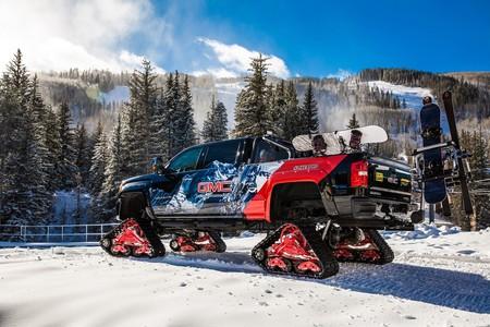 GMC Sierra 2500HD All Mountain concept, porque la aventura se disfruta más con orugas