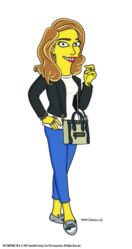 El mundo blogger aparece en The Simpsons: Chiara Ferragni se codea con la población amarilla. ¡Multiplícate por 0!