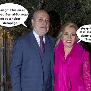 El marido de Carmen Borrego, José Carlos Bernal, estalla contra la hija de su ex y asegura que tendrá que apechugar con estas consecuencias al 'Rocío Carrasco Style'