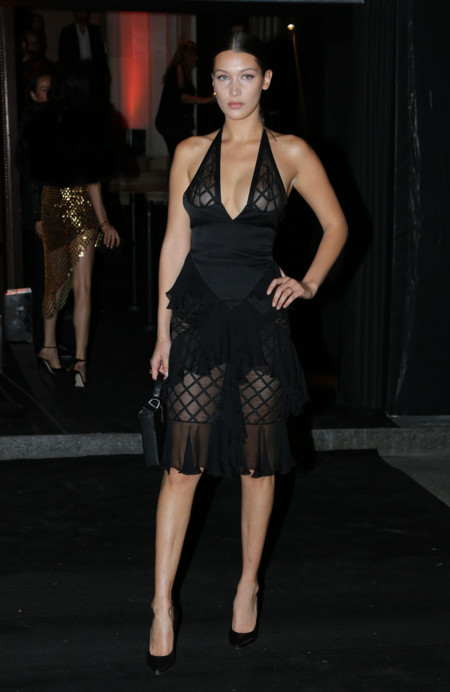 Penelope Cruz Bella Hadid Balmain Primavera Verano 2016 3
