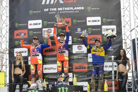 Podio Mx2 Holanda