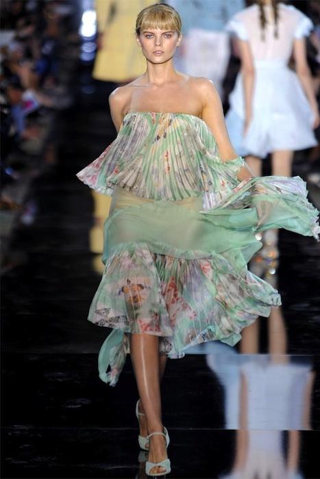 Tendencias Primavera-Verano 2012: los colores pastel mandan en las pasarelas