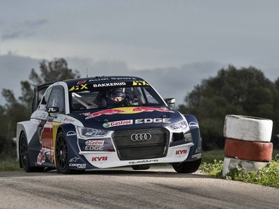 Audi S1 EKS RX quattro: 580 CV de furia alemana para reconquistar el mundial de Rallycross
